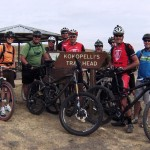 Start of Camp at kokopelli trail head in Loma, CO